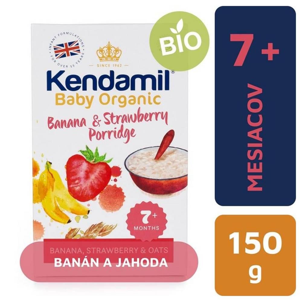 Kendamil KENDAMIL Organic, BIO Kaša banán a jahoda