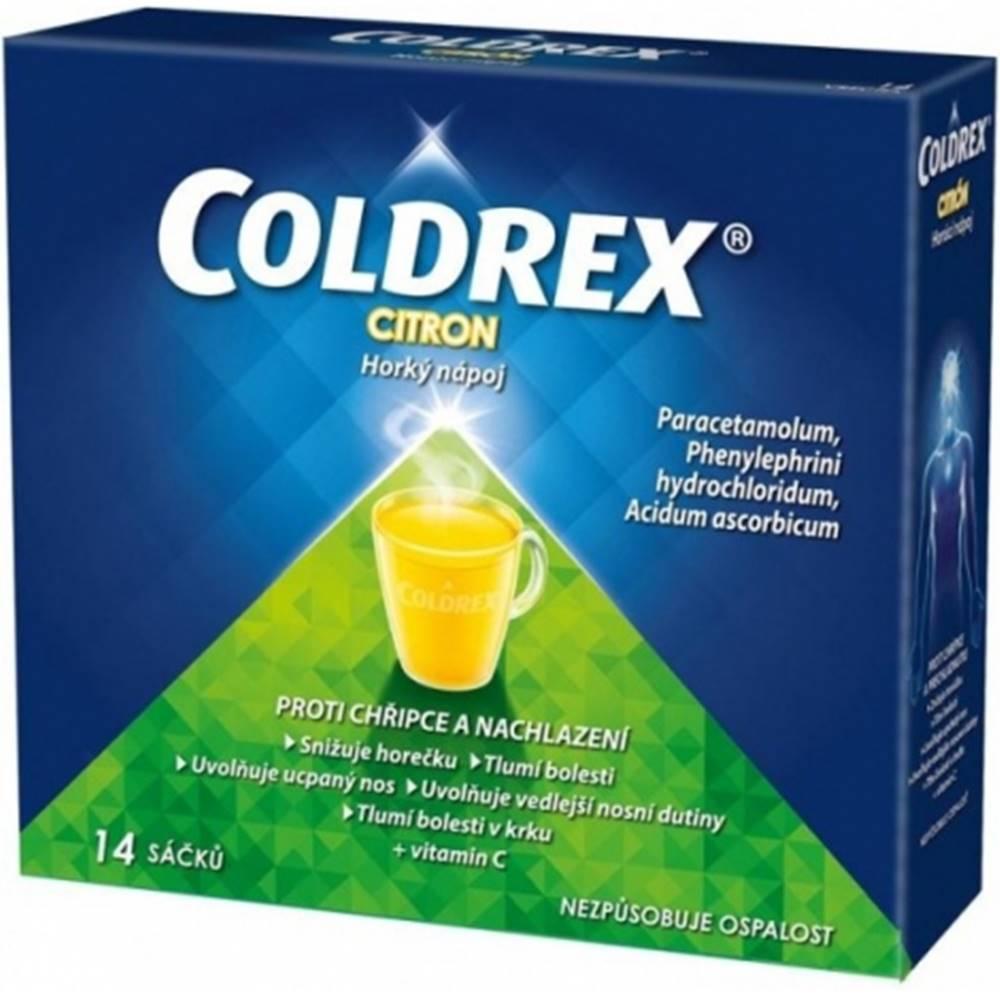 Glaxo Smith Kline Coldrex Horúci nápoj citrón 14 vrecúšok