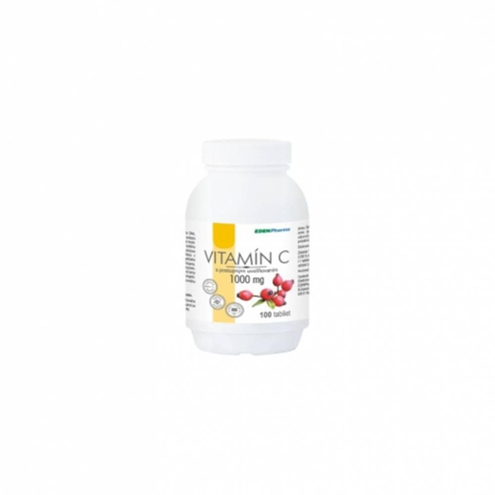 Edenpharma Edenpharma Vitamín C 1000 mg s postupným uvoľňovaním so šípkovým extraktom 100 tbl