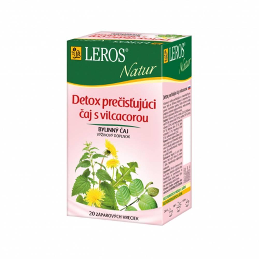 Leros, s.r.o. LEROS NATUR Detox prečisťujúci čaj s vilcacorou porciovaný 20x1,5g