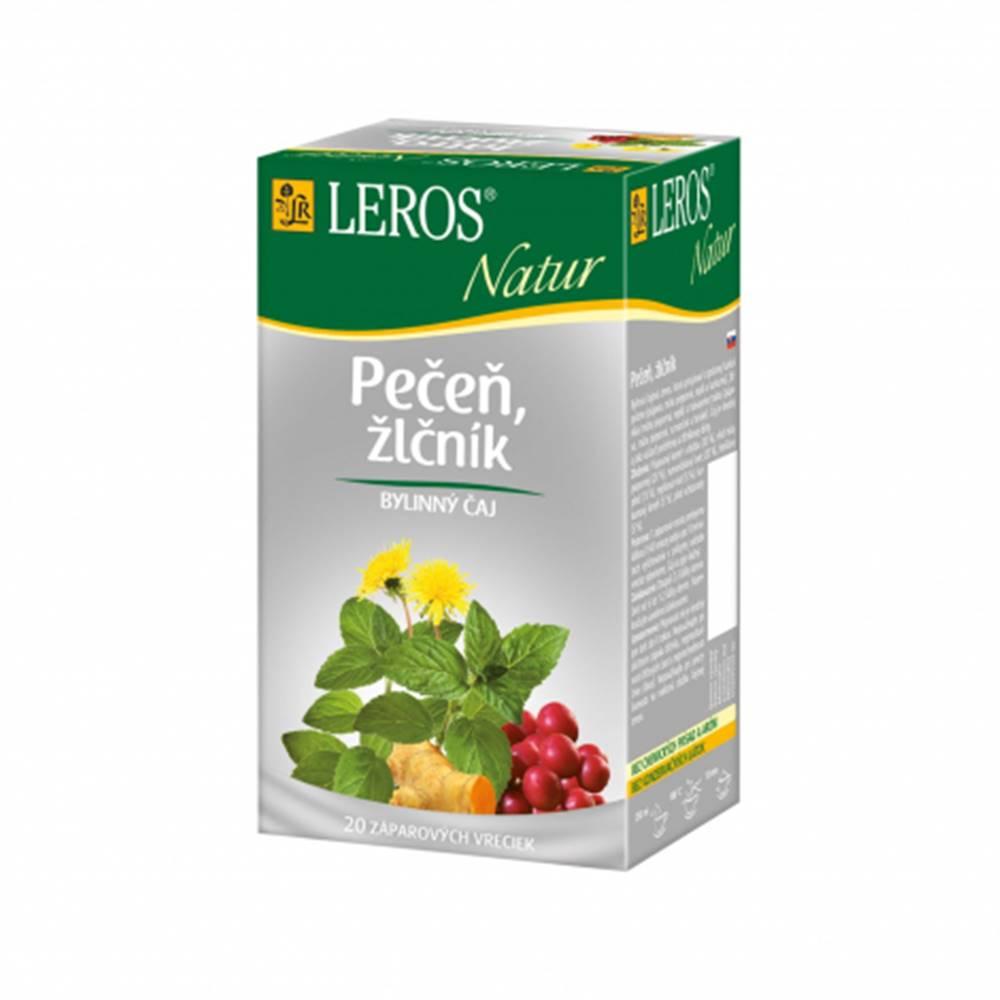 Leros, s.r.o. LEROS NATUR Pečeň, žlčník porcovaný čaj 20x1,5g