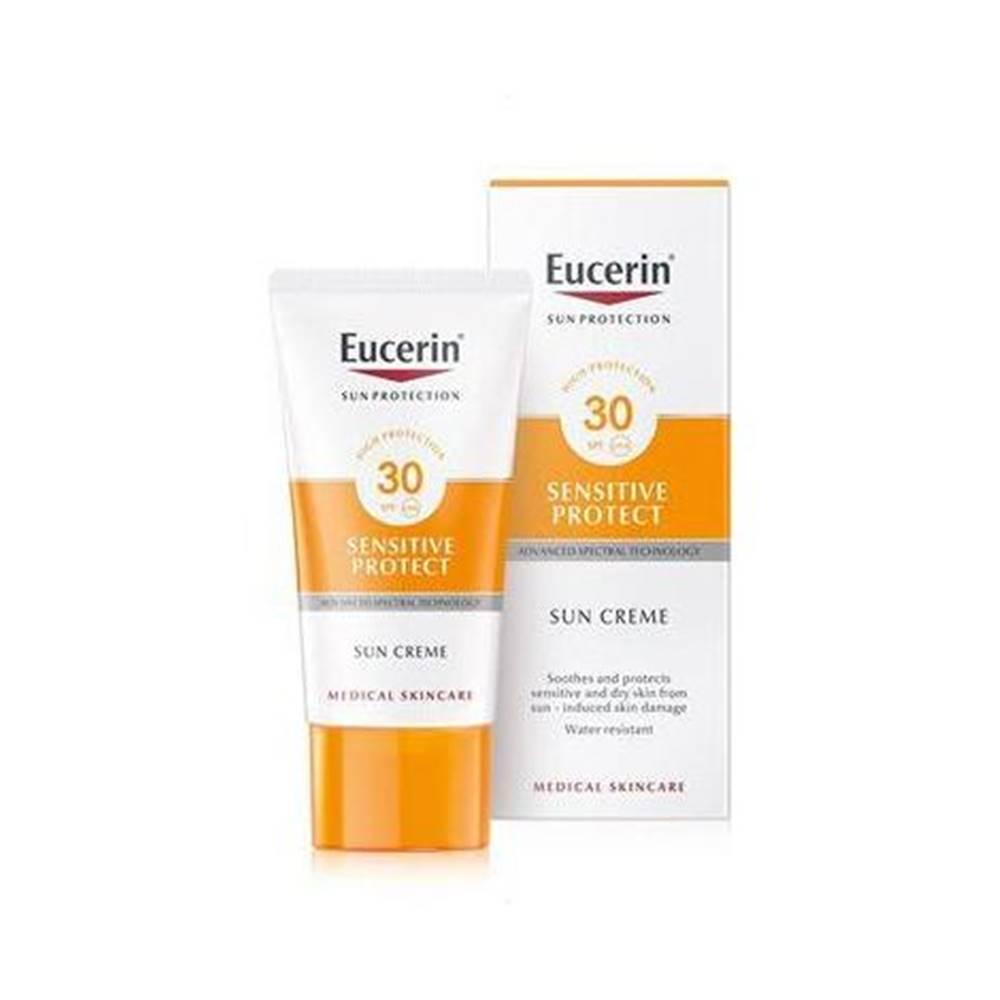 Beiersdorf Eucerin Sensitiv Protect krém na opaľovanie na tvár SPF 30 50ml