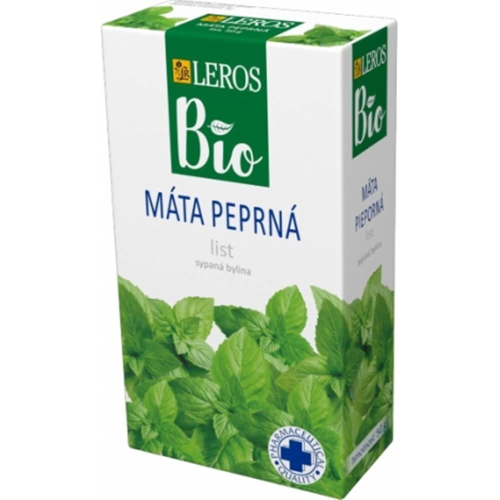 Leros, s.r.o. LEROS BIO MÄTA PIEPORNÁ list sypaná bylina 1x50 g