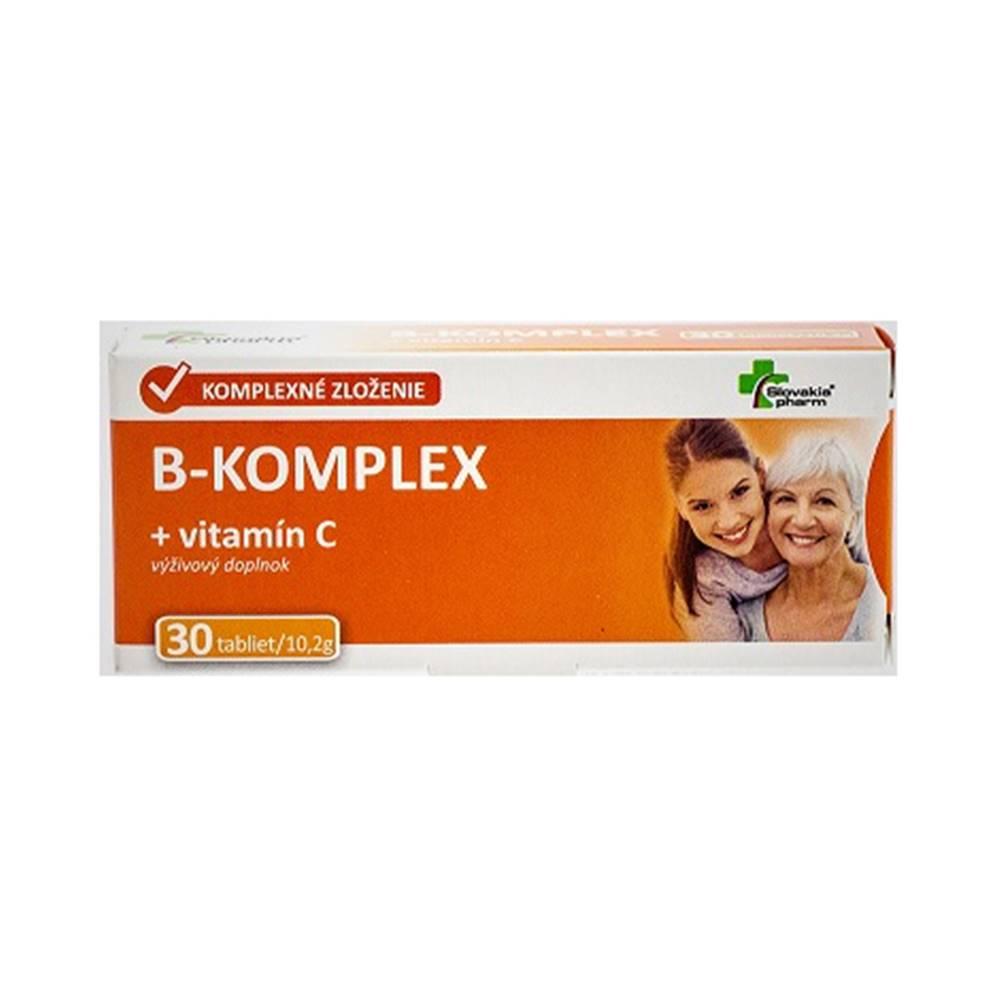 Slovakiapharm SK, s.r.o. Slovakiapharm B-komplex + vitamín C 30 tbl
