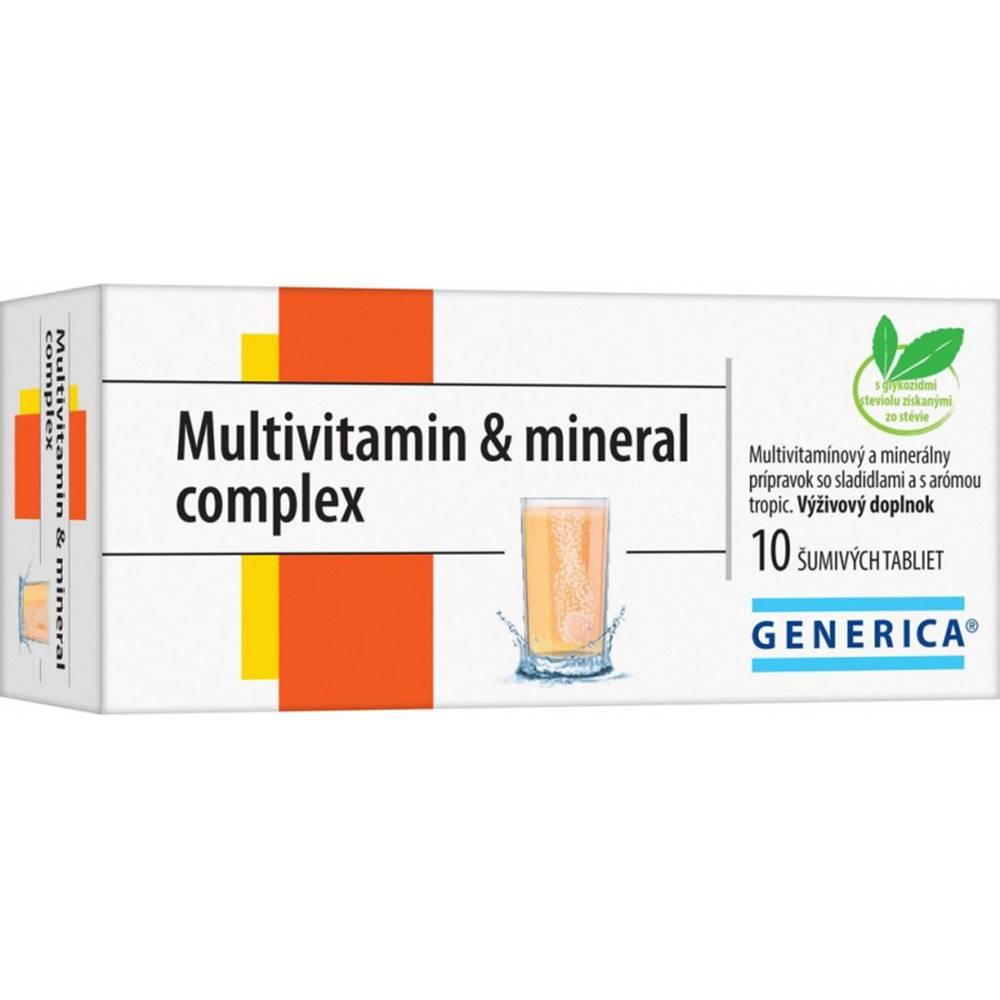 Generica GENERICA Multivitamin & mineral complex