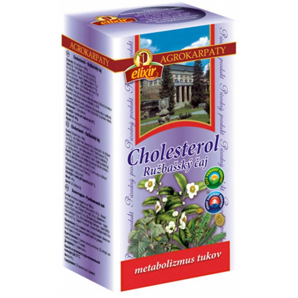 AGROKARPATY, s.r.o. Plavnica (SVK) AGROKARPATY CHOLESTEROL Ružbašský čaj 20x2 g (40 g)