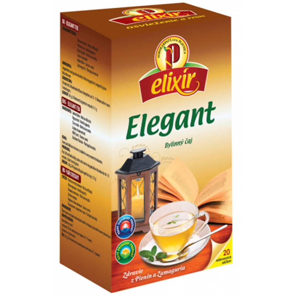 AGROKARPATY, s.r.o. Plavnica (SVK) AGROKARPATY elixír ELEGANT bylinný čaj 20x1,5g (30 g)