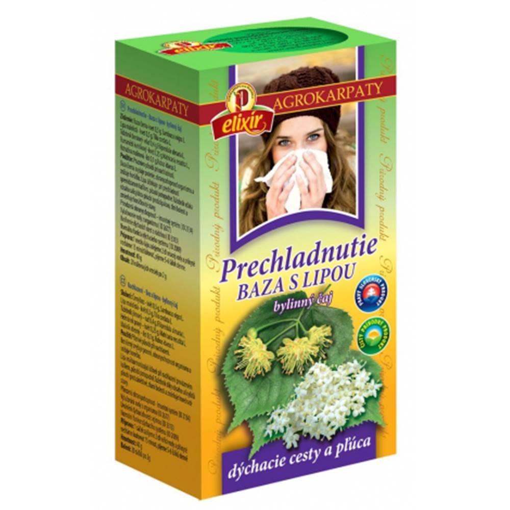 AGROKARPATY, s.r.o. Plavnica (SVK) AGROKARPATY Prechladnutie BAZA S LIPOU bylinný čaj 20x2 g (40 g)