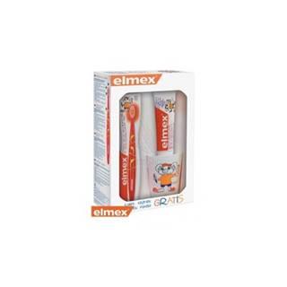Elmex balíček pre deti (zubná pasta + kefka + pohárik) 1ks