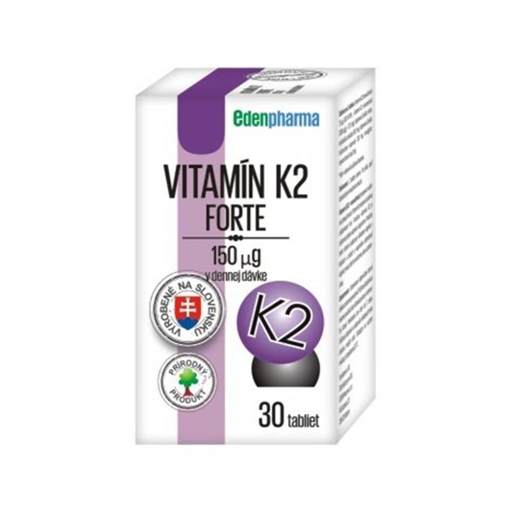 Edenpharma Edenpharma Vitamín K2 Forte 30 tbl
