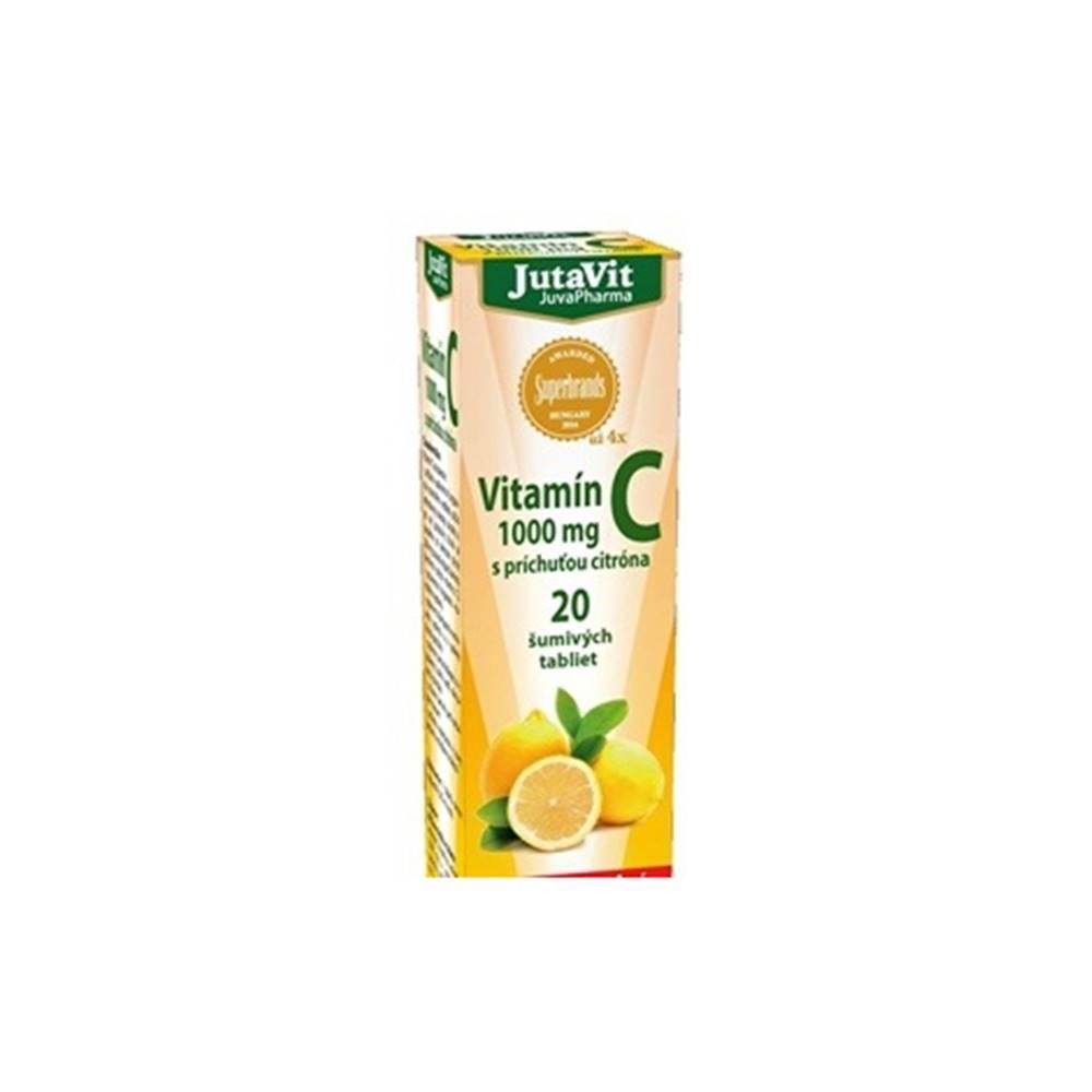 JutaVit Pharma s.r.o JutaVit Vitamín C 1000 mg 20 šumivých tabliet