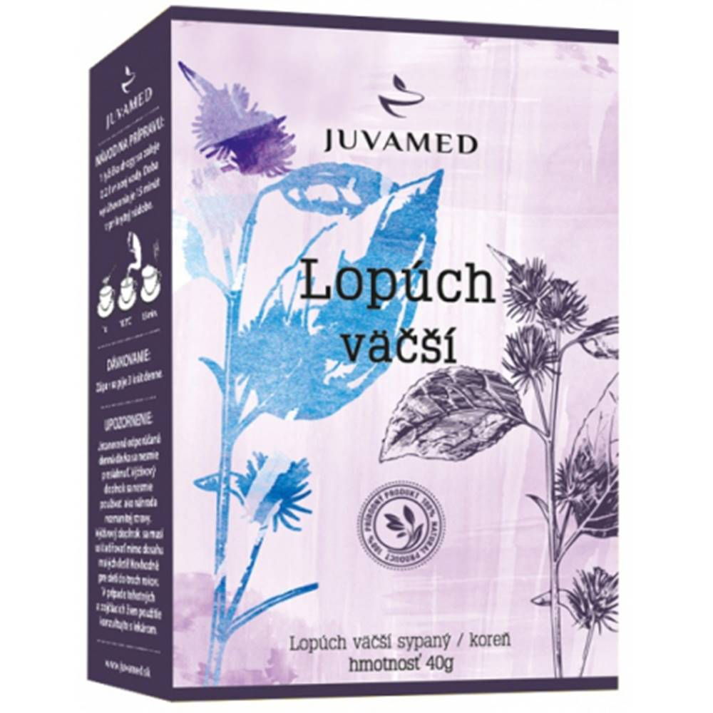 Juvamed Juvamed LOPÚCH VÄČŠÍ - KOREŇ sypaný čaj 40 g