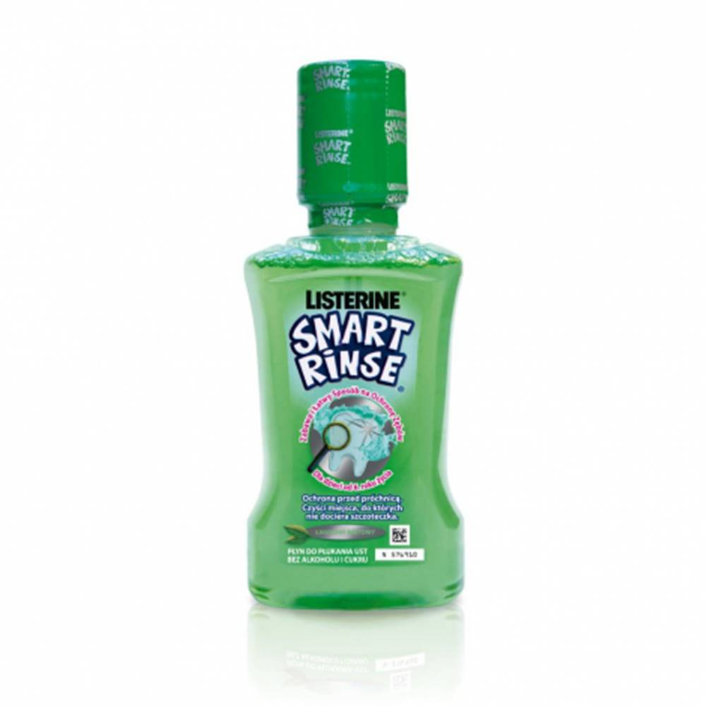 Johnson & Johnson LISTERINE Smart Rinse Mint ústna voda 250 ml