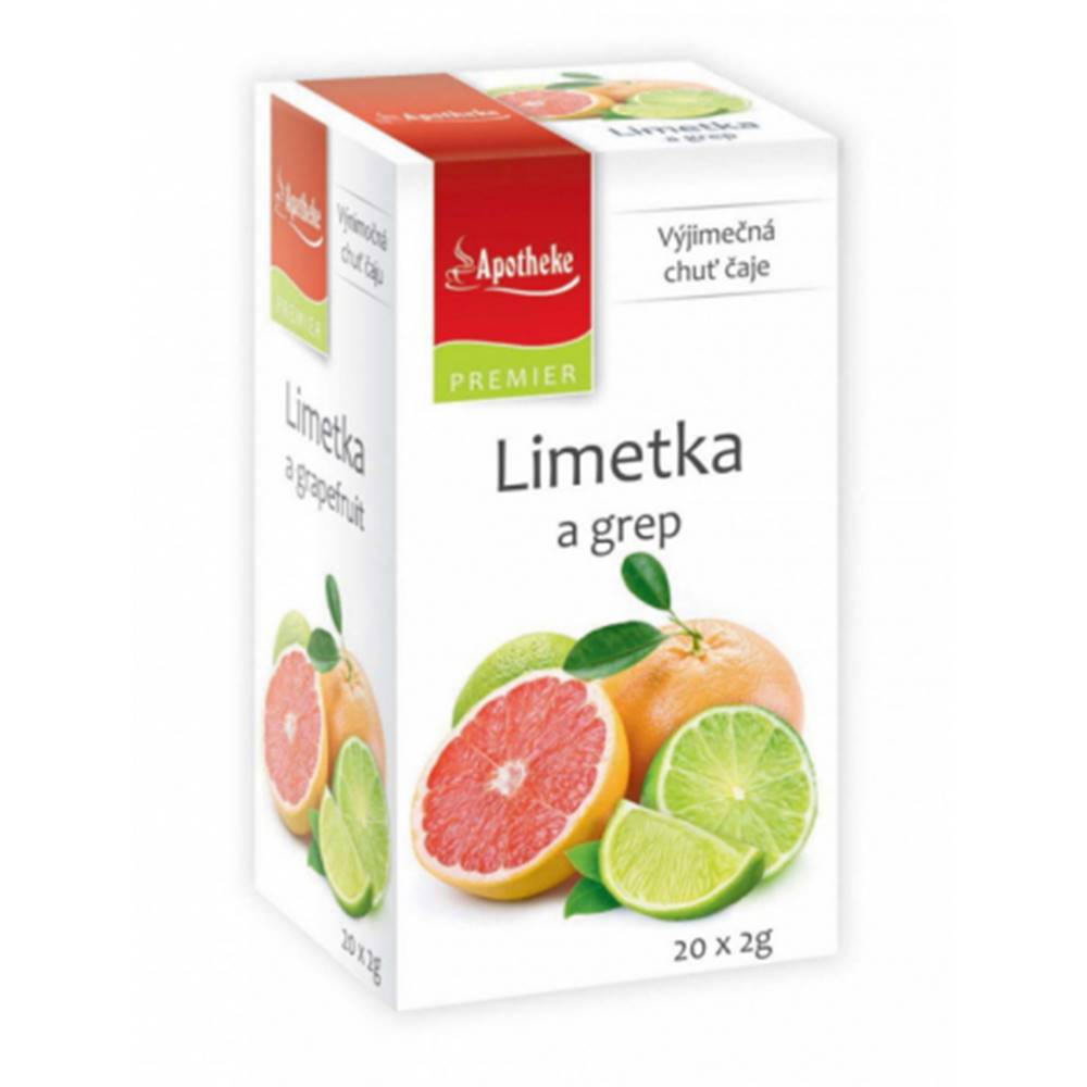 MEDIATE s.r.o. APOTHEKE čaj limetka a grapefruit N.S.