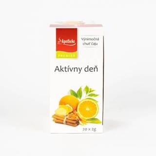 APOTHEKE čaj Aktívny deň N.S.