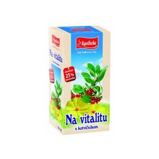 APOTHEKE Čaj na vitalitu s kotvičníkom n.s.