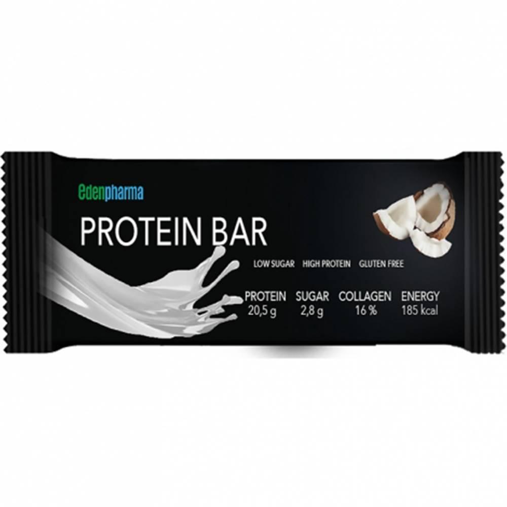 Edenpharma EDENPharma Protein bar kokos proteinová tyčinka 55g 1 ks
