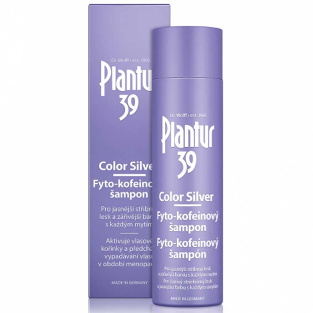 Boiron Plantur 39 Color Silver Fyto-kofeínový šampón 250 ml