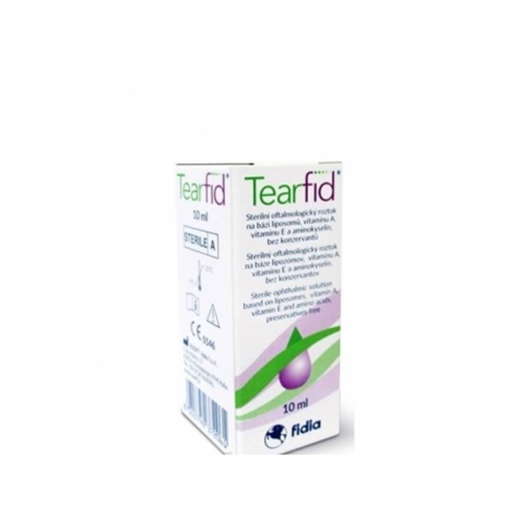 Pharco s.r.o. Tearfid očné kvapky 10 ml