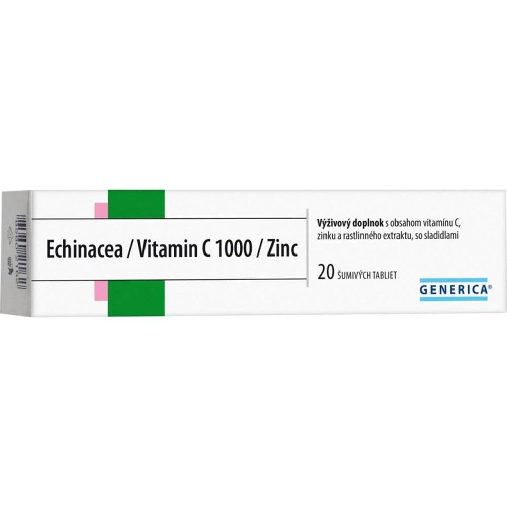 Generica GENERICA Echinacea/Vitamin C 1000/Zinc