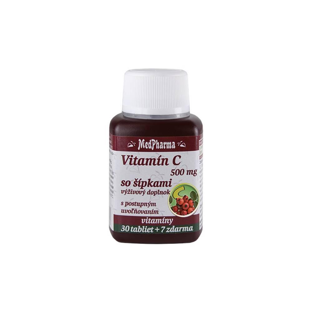 Medpharma MedPharma VITAMÍN C 500MG so šípkami