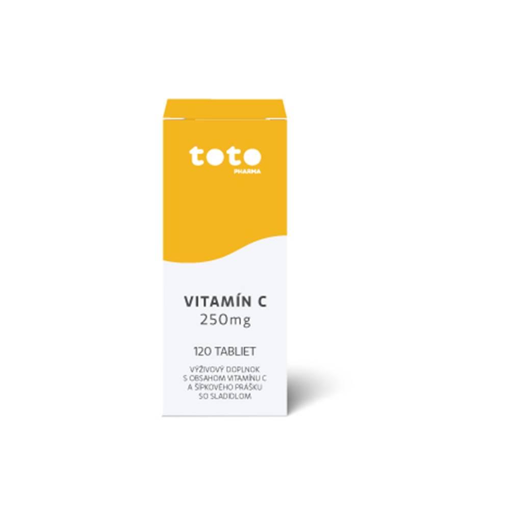 Generica TOTO Vitamín C 250 mg 120 cps