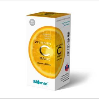 BIOMIN Vitamín C basic 60 kapsúl