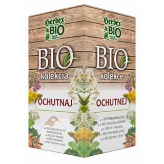 HERBEX Bio kolekcia ochutnaj bylinné čaje 20 vrecúšok