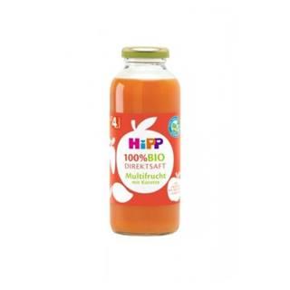 HiPP 100 % BIO Ovocná šťava s karotkou 330 ml