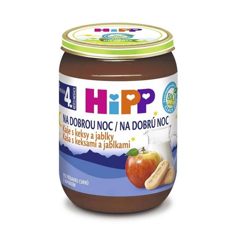 HiPP HiPP BIO Kaša na dobrú noc s keksami a jablkami od uk. 4. mesiaca