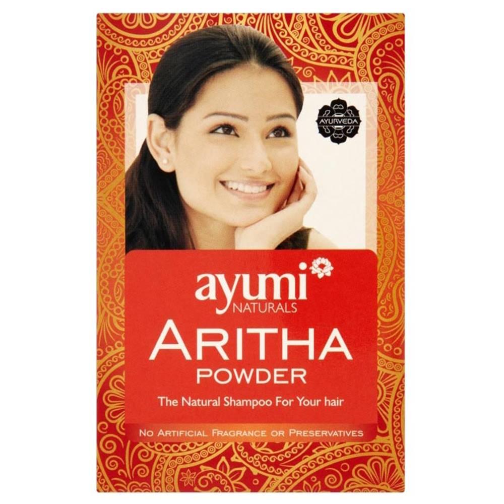 Ayumi naturals Ayumi naturals Aritha Powder 100 g, vlasový zábal a šampón