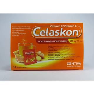 Celaskon Horúci nápoj 300 mg 14 vreciek