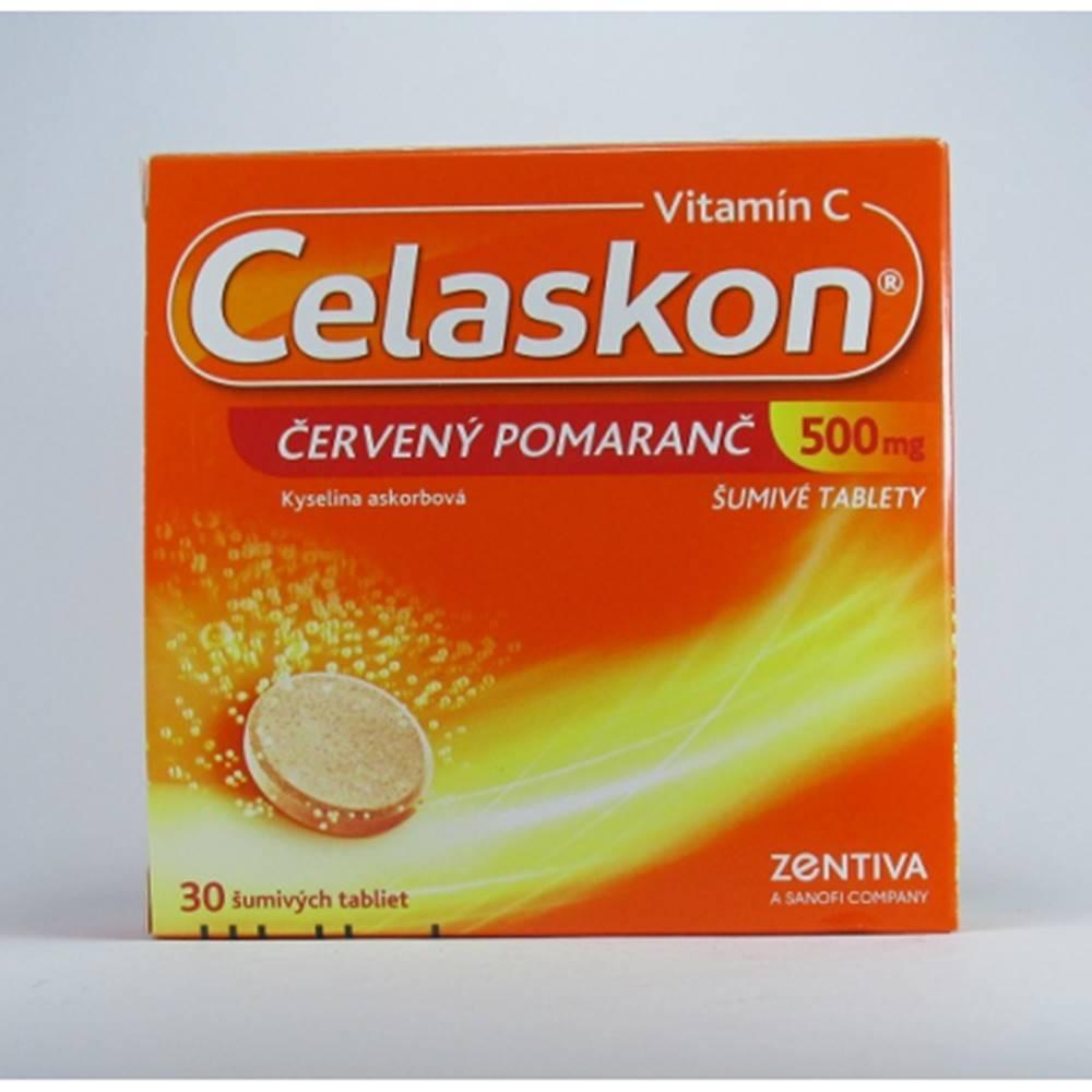 sanofi-aventis Slovakia Celaskon 500 mg červený pomaranč 30 tbl eff