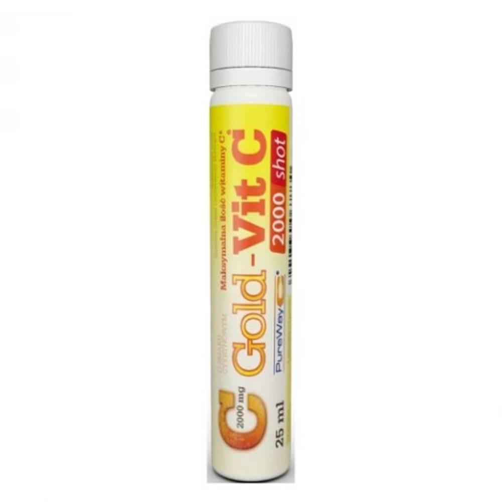 Gold-Vit GOLD-VIT C 2000 mg shot 25 ml 5 ampúl