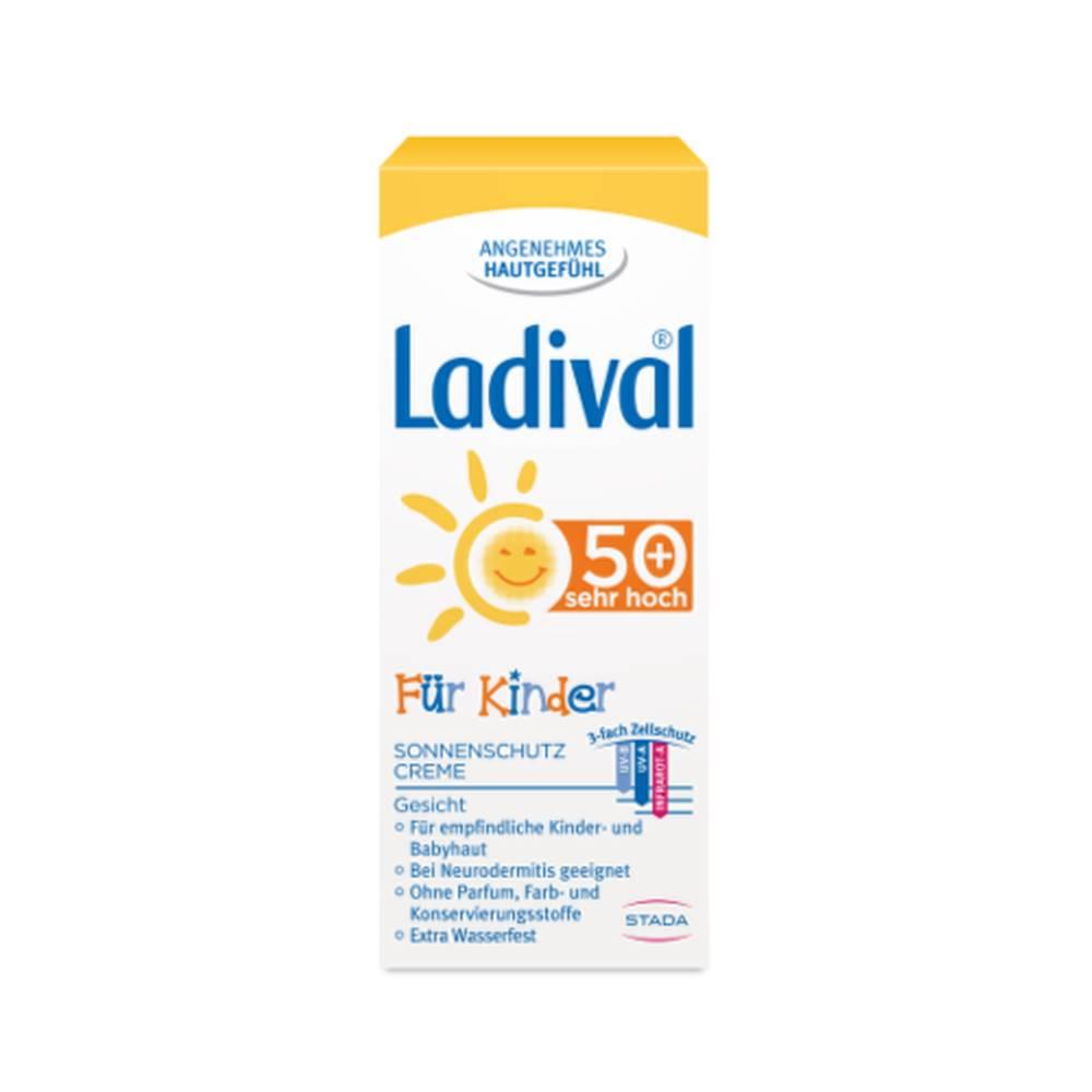 Ladival LADIVAL pre deti SPF50+ opalovací krém na tvár 50 ml
