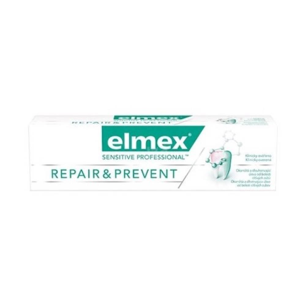 Elmex ELMEX Sensitive professional repair & prevent zubná pasta 75 ml