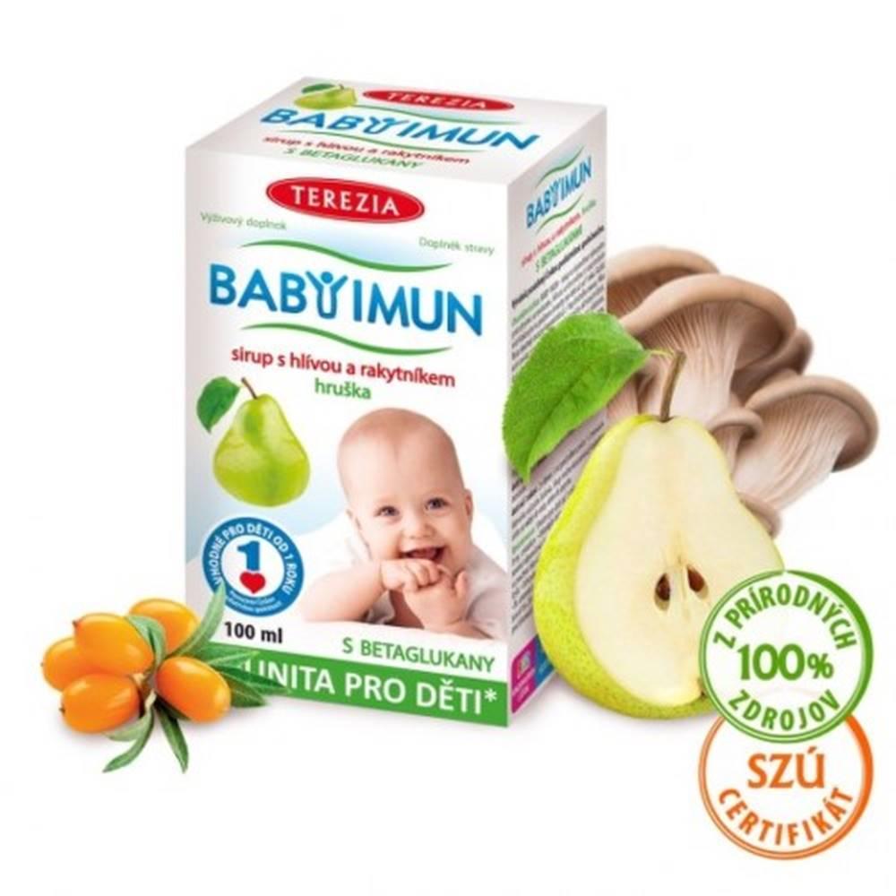 TEREZIA TEREZIA Babyimun sirup s hlivou a rakytníkom, príchuť jablko 100 ml