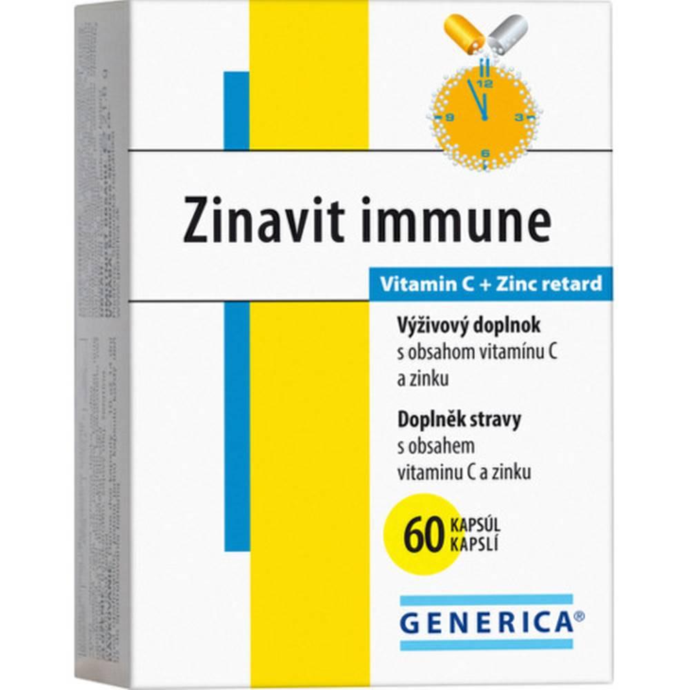 Generica GENERICA Zinavit immune 60 kapsúl