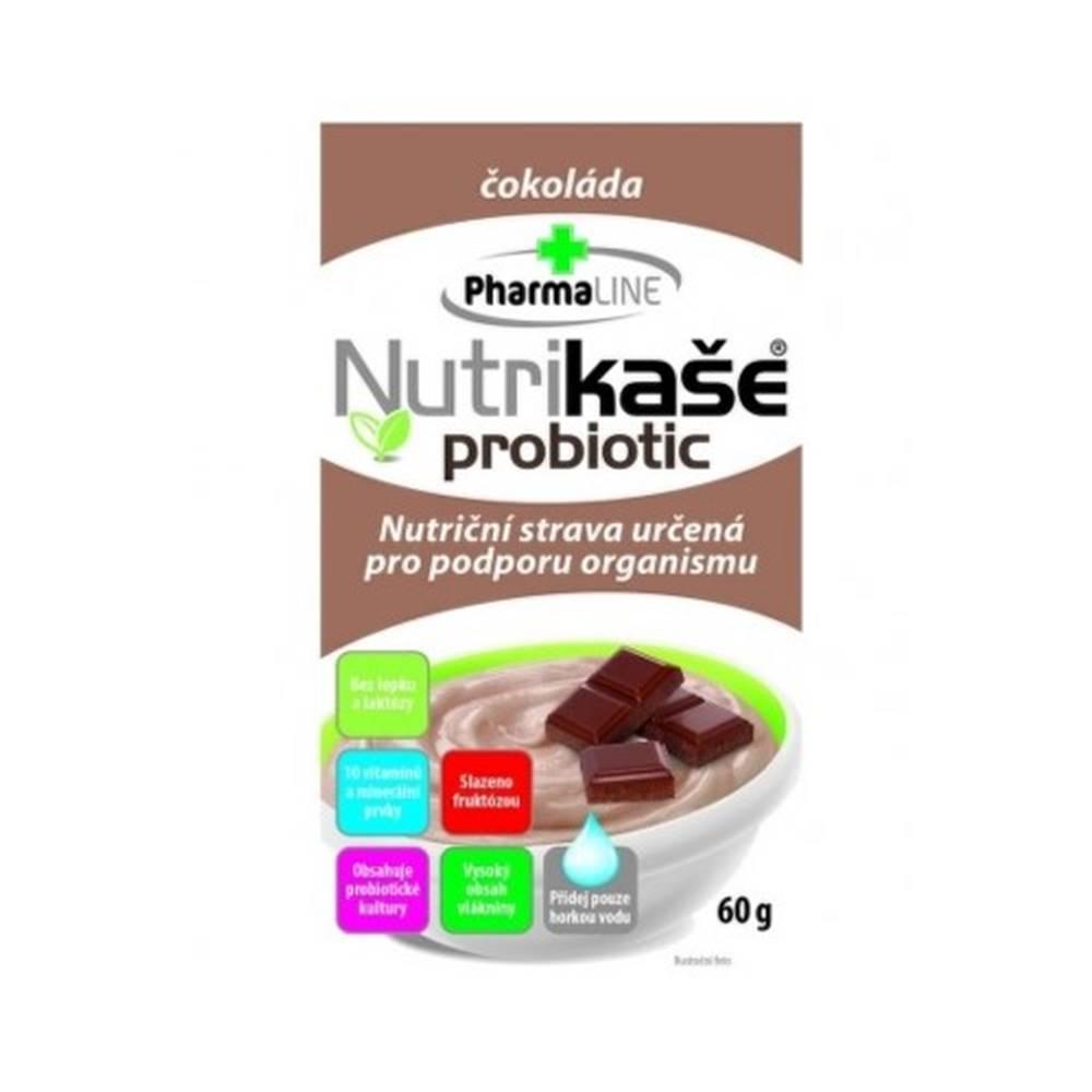 PharmaLINE NUTRIKAŠA Probiotic s čokoládou 60 g