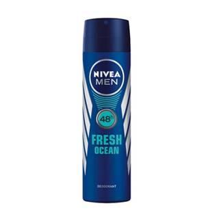 NIVEA Dezodorant sprej pre mužov Fresh ocean 150 ml